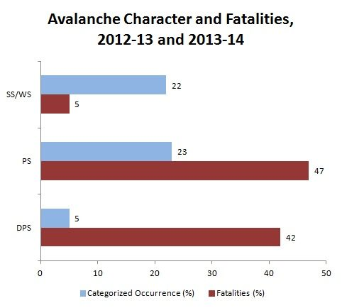 Avalanche Character, 2013-2014